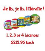 TEACHER Je Lis! Online CDN School Licence - 1-4